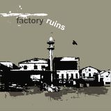 Factory ruins Royalty Free Stock Photography