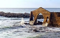 Factory ruins, Avola, Sicily (Italy) Royalty Free Stock Photo