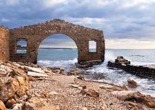 Factory ruins, Avola, Sicily (Italy) Royalty Free Stock Image