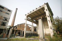 Factory ruins Stock Images