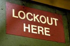Factory signage Stock Photo