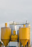 Factory silo Stock Photography