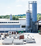 Factory site Royalty Free Stock Photo