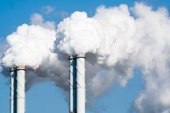 Factory smoke Stock Photo