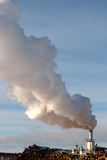 Factory smoke Stock Photography