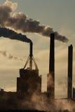 Factory and smoke Stock Image