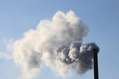 Factory smokestack Stock Photos
