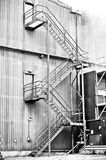 Factory steps Royalty Free Stock Images