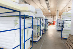Factory storage room Royalty Free Stock Image