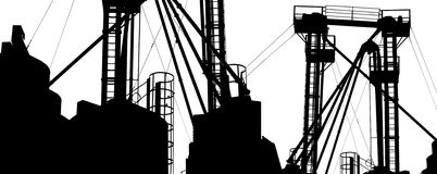 Free Factory Structure Royalty Free Stock Photos - 4055308