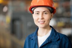 Factory technician royalty free stock photography