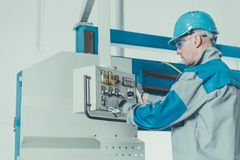 Factory Technician Worker stock images