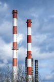 Factory Tower Chimneys Stock Image