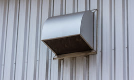 The factory ventilation system. Stock Image