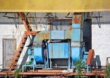 Factory ventilation system Stock Image