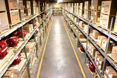 Factory Warehouse Royalty Free Stock Photos