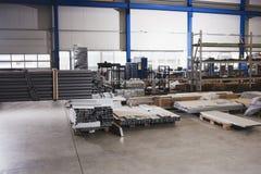 Factory warehouse Royalty Free Stock Photo