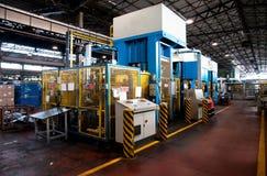 Factory: washing machine production Royalty Free Stock Photos