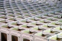 Factory: washing machine production Royalty Free Stock Image