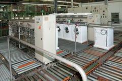 Factory: washing machine production Stock Photos