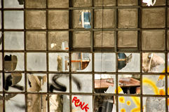 Factory windows Royalty Free Stock Photography