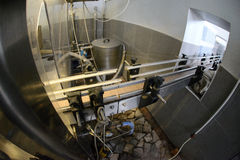 Factory of Winemaking Stock Image