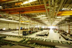 Factory Workshop Royalty Free Stock Images