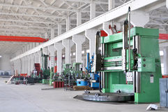 Factory workshop panorama Royalty Free Stock Photo