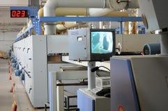 Factory workshop panorama Stock Photos