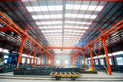 Factory workshop panorama Stock Photography