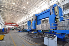 Factory workshop panorama Royalty Free Stock Image