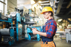 In the factory stock photos