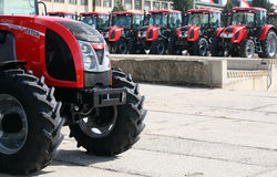 Factory of Zetor Tractors royalty free stock image