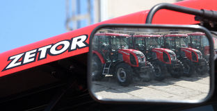 Factory of Zetor Tractors Stock Photography