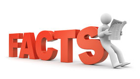 Facts Royalty Free Stock Photos