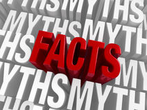 The Facts Emerge Royalty Free Stock Photography