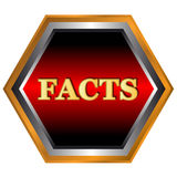 Facts logo Stock Photo