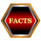 Facts logo Stock Photo