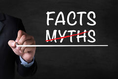 FACTS  -MYTHS Royalty Free Stock Photography
