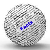 Facts Sphere Definition Means Truth And Wisdom Royalty Free Stock Photo