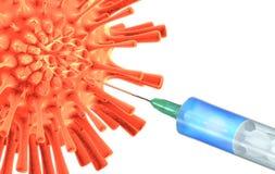 Factura antivirosa da vacina Imagens de Stock Royalty Free