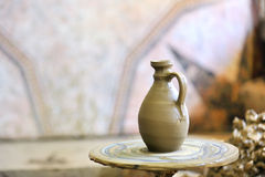 Factura de um vaso cerâmico Fotos de Stock Royalty Free