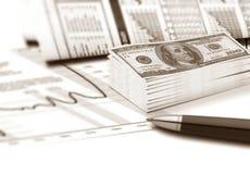 Factura do dinheiro Foto de Stock Royalty Free