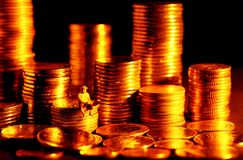Factura do dinheiro fácil fotografia de stock