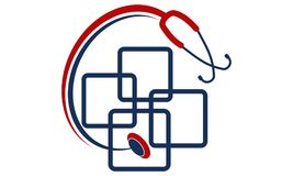Facturation médicale d'APP illustration libre de droits