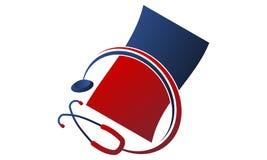Facturation médicale d'APP illustration stock
