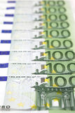 factures 100-Euro Photos libres de droits