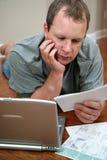 Factures de paiement Photos libres de droits
