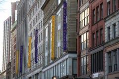 Faculdade Boston miliampère de Emerson Imagens de Stock Royalty Free