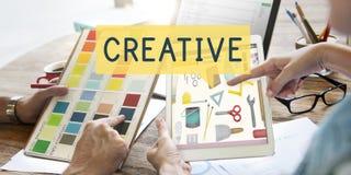 A faculdade criadora criativa inspira o conceito da inovação das ideias Imagem de Stock Royalty Free
